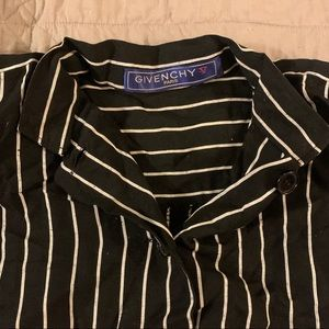 Givenchy vintage striped button up